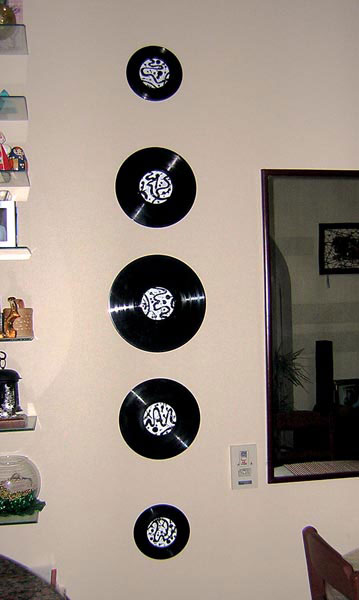 Дизайн виниловые пластинки