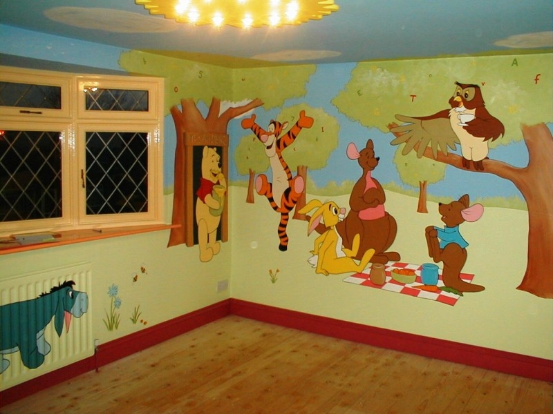 Дисней рисунки на стену своими руками