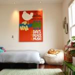 Винтажные постеры в интерьере