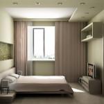 Как уникально и практично оформить маленькую спальню