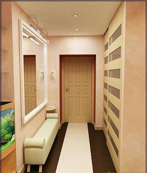 Как использовать узкий коридор в квартире