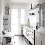Дизайн узкой кухни: хитрости оформления