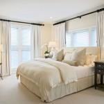 Белые шторы в интерьере: преимущества и применение