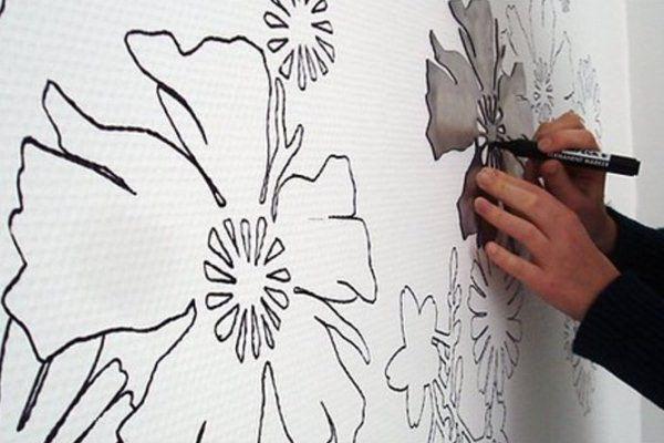 Шаблоны трафаретов на стену под покраску шаблоны