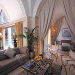 Богатство и роскошь римского стиля интерьера