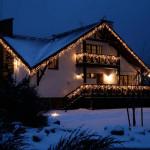 Украшение загородного дома к Новому году