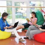 Кресло-мешок как часть интерьера