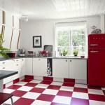 Цветной пол – яркий акцент в вашей комнате