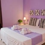 Спальня в оттенках фиолетового: идеи