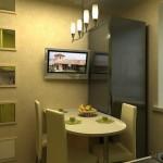 Телевизор в кухне: делаем правильный выбор