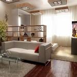 Перепланировка однокомнатной квартиры для семьи с ребёнком