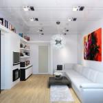 Маленькая гостиная: варианты расстановки мебели