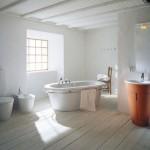 Ванная комната в шведском стиле: элегантность и лаконичность