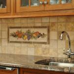 Кухонный фартук: способы оформления