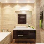 Ванная комната в экостиле